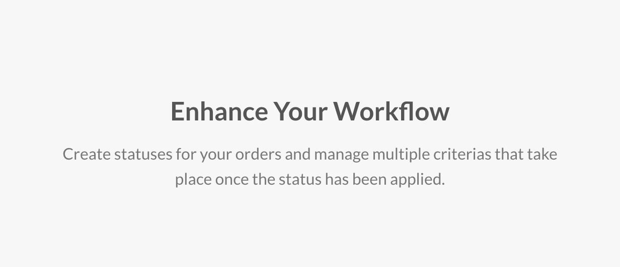 Enhance Your Workflow
